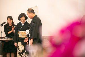 京都府庁・旧議場にて初!人前式が行われました♡PART2